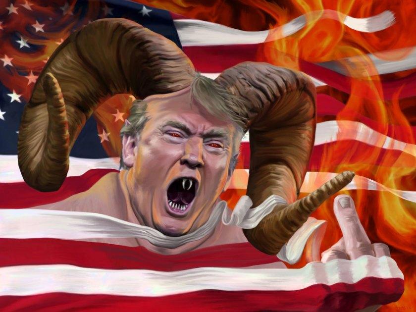 OMFG TRUMP - Antichrist