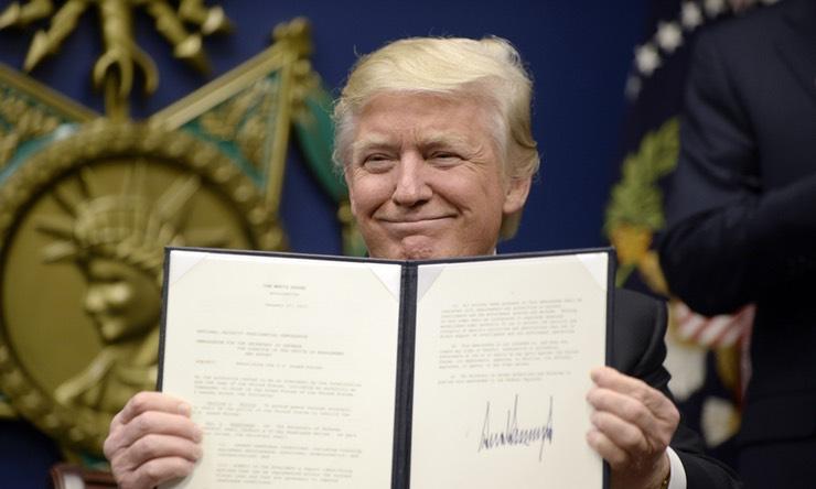 OMFG TRUMP - Signing Orders