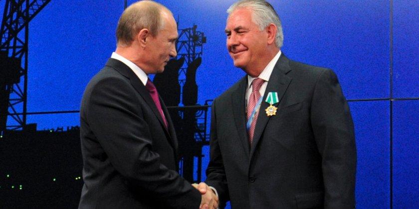 OMFG TRUMP - Tillerson and Putin