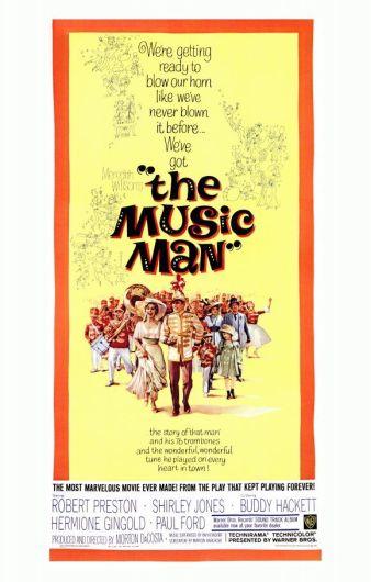 OMFG TRUMP - Music Man Movie Poster