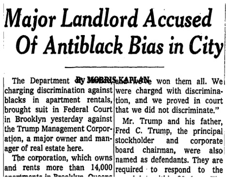 Donald Trump major US landlord accused of anti black bias  @onthemarketblog.jpg