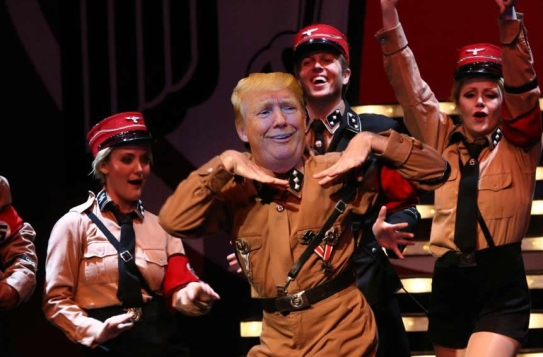 OMFG TRUMP - Dancing with the nazis.jpg