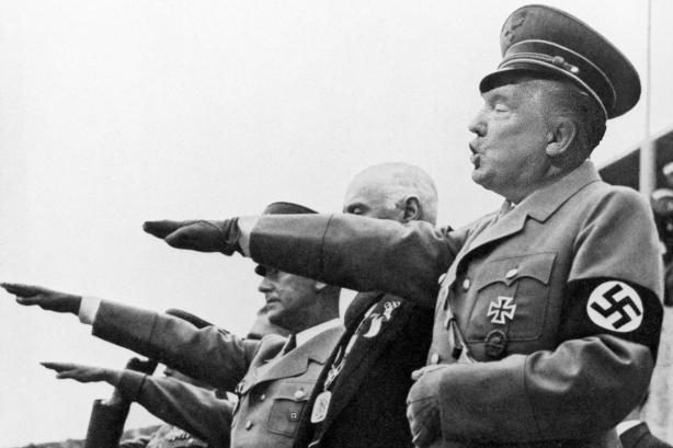 OMFG TRUMP Trump is Hitler