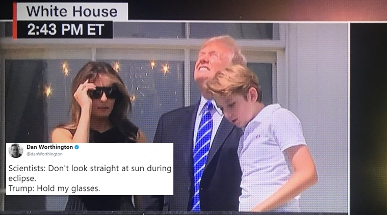 OMFG TRUMP - Trump Looking at Eclipse.jpg