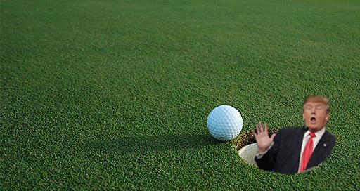 OMFG TRUMP - Golf dork
