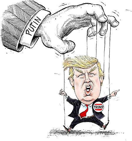 OMFG TRUMP - Putin Puppet