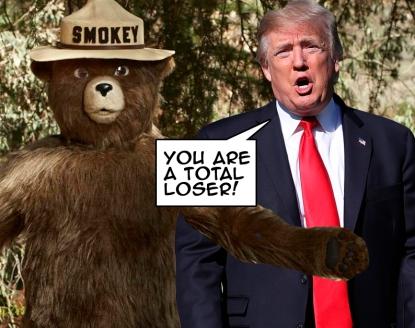OMFG TRUMP - Smokey