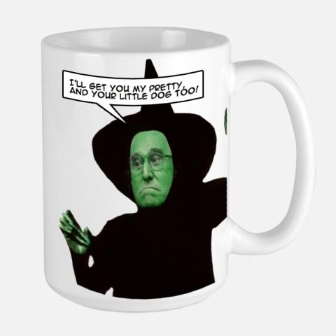 omfg trump - roger stone witch mug