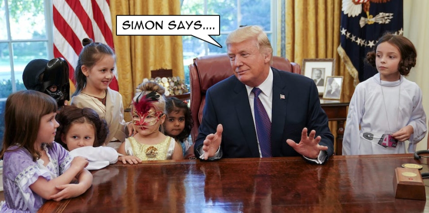 OMFG TRUMP - simon says