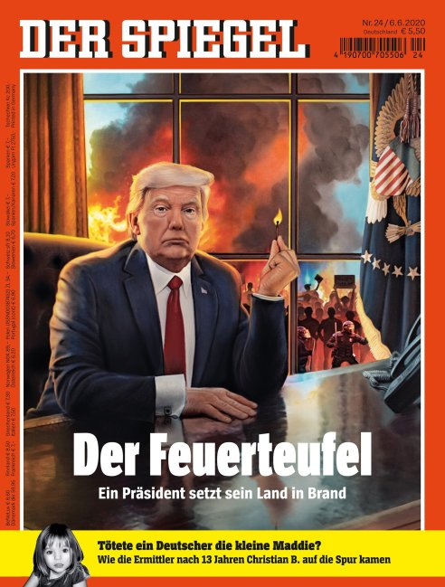 german magazine cover